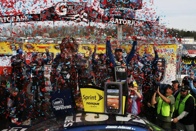 JJ Makes History at Martinsville