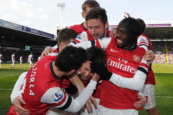Watch out Tottenham: Arsenal Are Gunning for You After West Bromich Victory