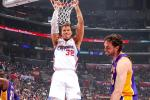 Clippers Sweep Lakers to Clinch 1st Division Title