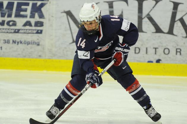 Brianna Decker Emerging as Strong Presence on Team USA's Offense