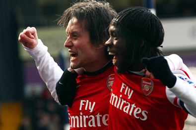 Arsenal's Tomas Rosicky Seizes Chance in Dazzling Display at West Brom