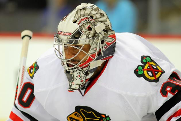 Blackhawks May Platoon Goalies in Playoffs