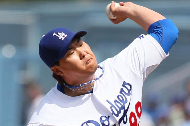 Ryu Gets First Win as Dodgers Sweep Pirates