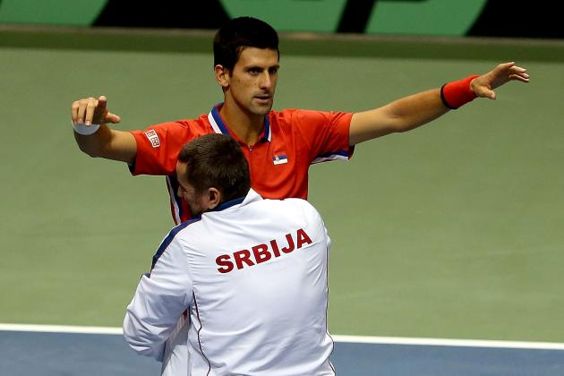 Davis: Djokovic Hurt as Serbia Trumps U.S.