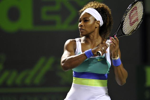 Serena Williams 'Chills out to Clinch Charleston Treble