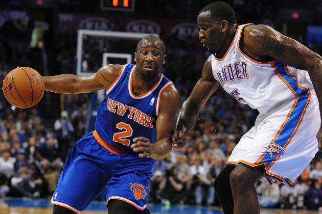 Knicks 125, Thunder 120