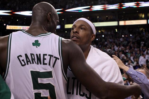 Celtics Beat Wizards as Paul Pierce and Kevin Garnett Return