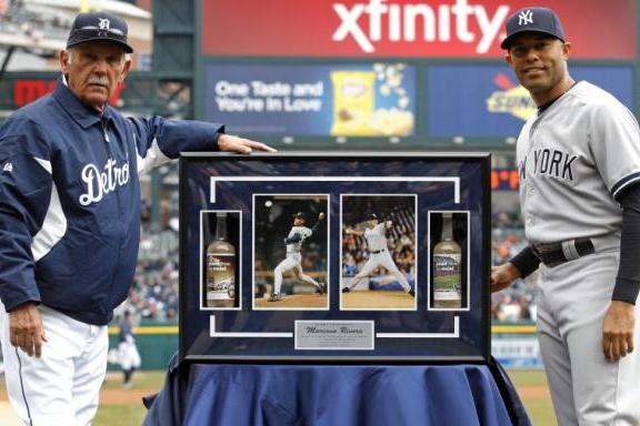 Tigers Honor Mariano Rivera with Retirement Plaque Before Series Finale
