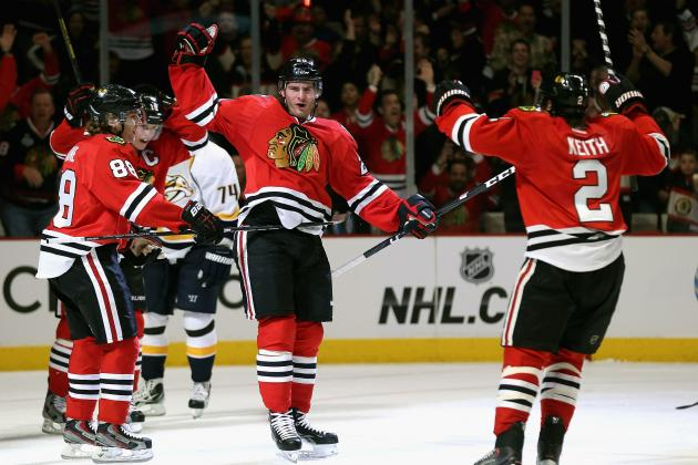 Blackhawks First Team to Clinch Playoff Spot