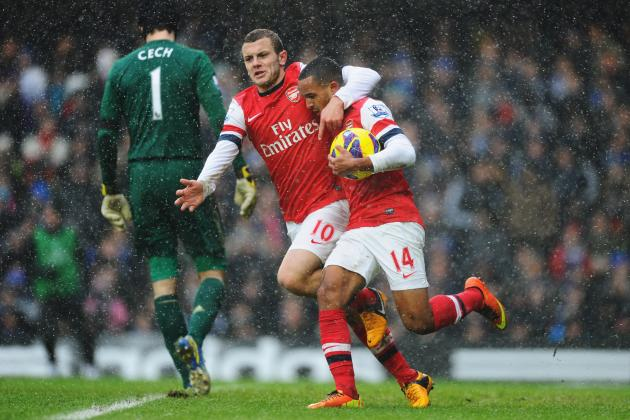 Arsenal FC: Where Do Wilshere and Walcott Fit in Returning from Injury?