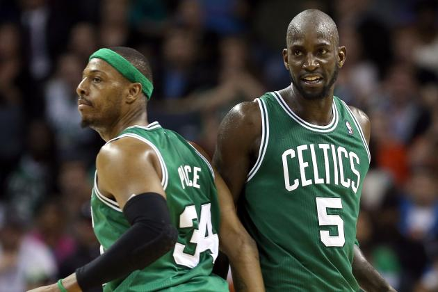 Pierce on KG: 'We're Not Going Anywhere Without Kevin's Presence'