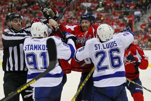 Lightning Lose Crucial Ground in Loss to Capitals