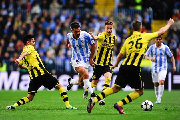 Borussia Dortmund vs. Malaga: Complete Champions League Quaterfinal Preview