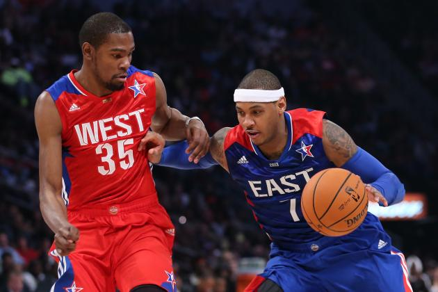 LeBron Is Certain MVP, but Is Carmelo Anthony NBA's 2nd Most Valuable Player?