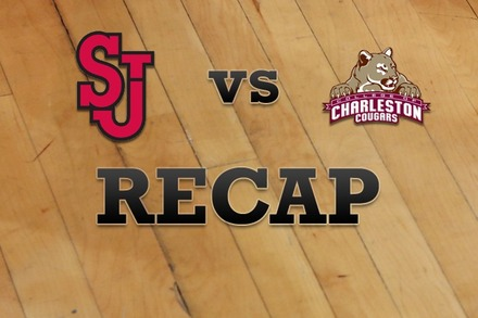St John's vs. Charleston: Recap, Stats, and Box Score