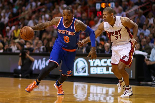 Building Case for Super-Sub J.R. Smith to Start for NY Knicks in 2013 Playoffs