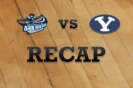 San Diego vs. Brigham Young: Recap, Stats, and Box Score
