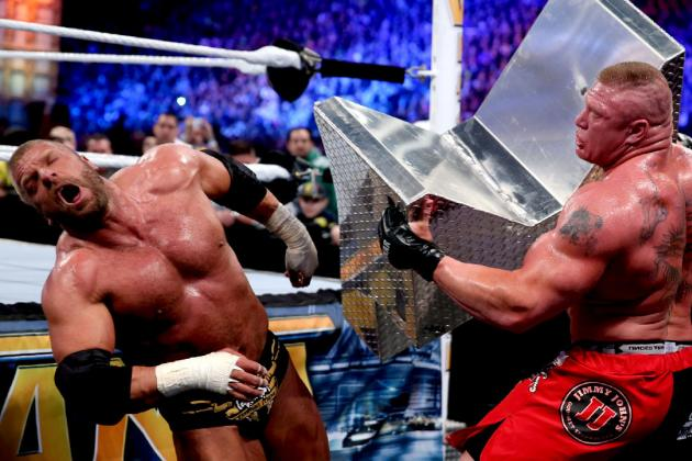 Triple H vs. Brock Lesnar Delivered at WrestleMania 29