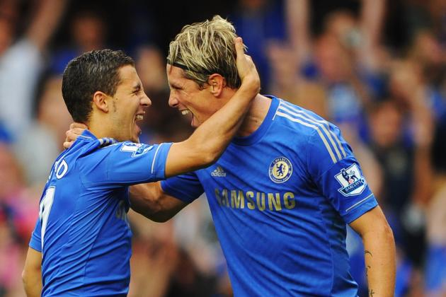 'People Expect 10 Goals from Him Every Game': Hazard Defends 'Top-Class' Torres