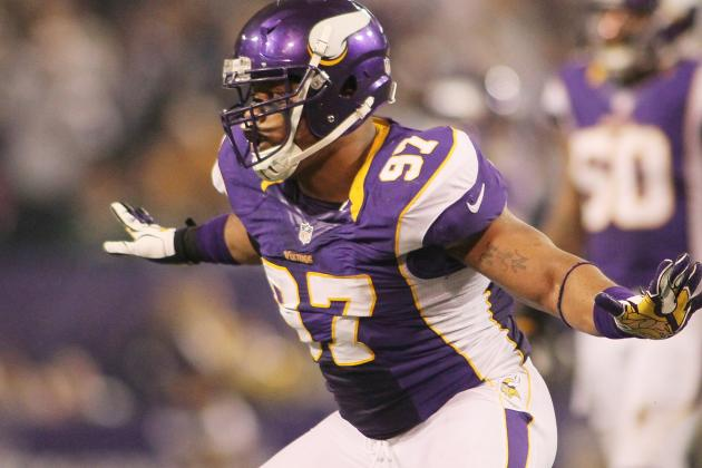 Everson Griffen Says New Baby, Best Season Prove Motivating