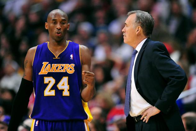 D'Antoni on Kobe's Minutes: We Need Him