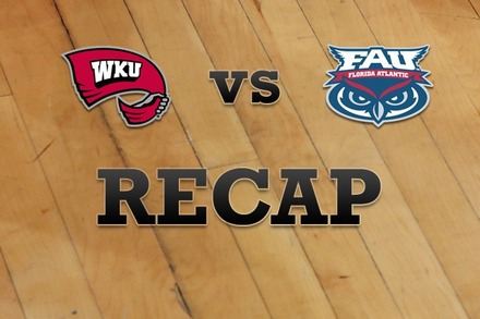 Western Kentucky vs. Florida Atlantic: Recap, Stats, and Box Score