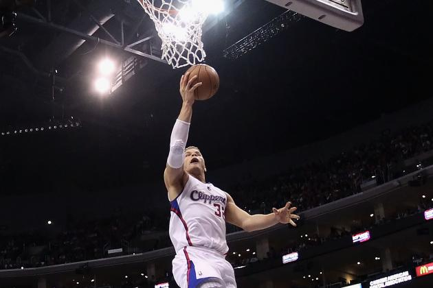 Blake Griffin Was Dunking All over Lakers Sunday (VIDEO)