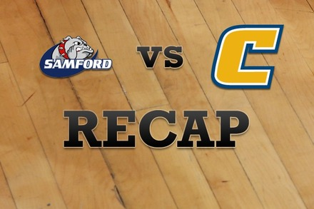 Samford vs. Chattanooga: Recap, Stats, and Box Score