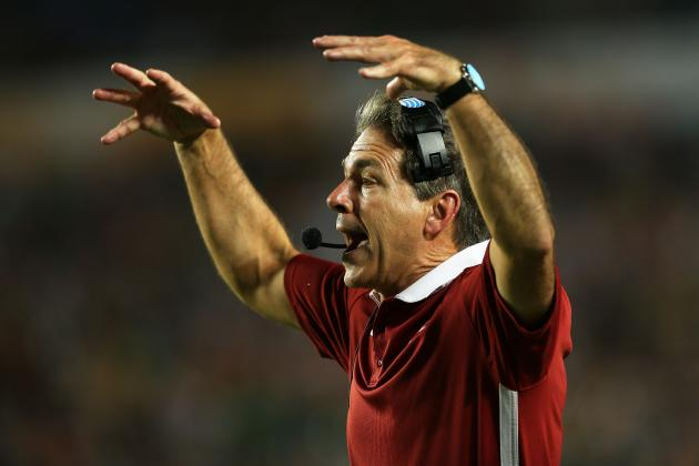 Nick Saban Not Pleased with 'Enough' of His Players