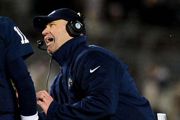 With Eight Practices in the Book, Bill O'Brien Says Quarterback Race Is Even