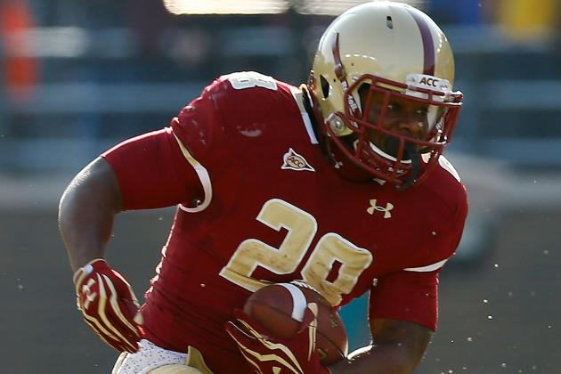 Boston College RB Deuce Finch Leaves Team for Personal Reasons