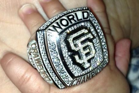 Baby Sports World Series Ring