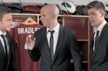 USMNT's Michael Bradley Tries His Hand at Acting in Volkswagen Commercial