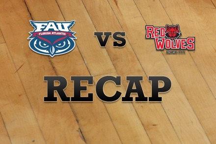 Florida Atlantic vs. Arkansas State: Recap, Stats, and Box Score