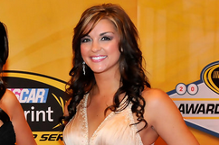 Former Miss Sprint Cup Paige Duke to Serve as 'Lady in Black' at Darlington