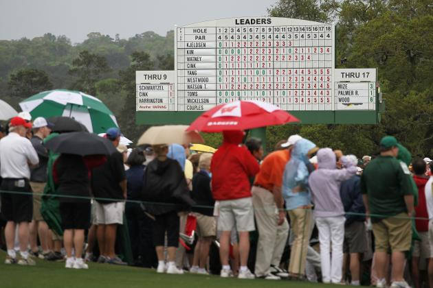 Thunderstorms Predicted for Early Rounds at Masters