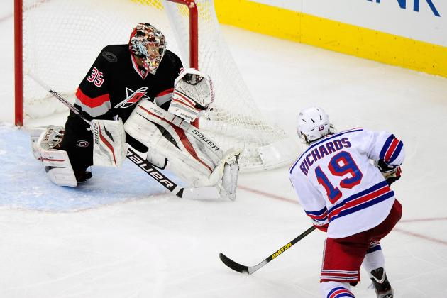 Rangers Versus Hurricanes: Game Video
