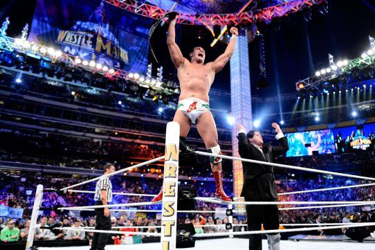 WWE WrestleMania 29: Alberto Del Rio Is a Failure as World Heavyweight Champion