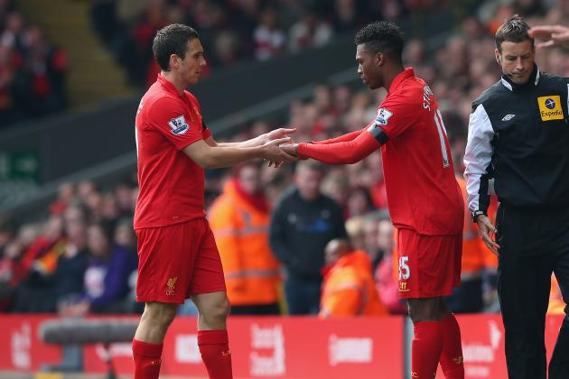 Liverpool's Stewart Downing Substituted Due to Illness