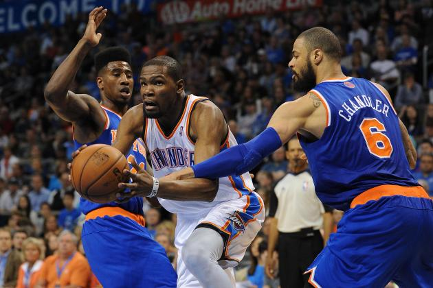 Rebounding Basketball an Issue for Thunder