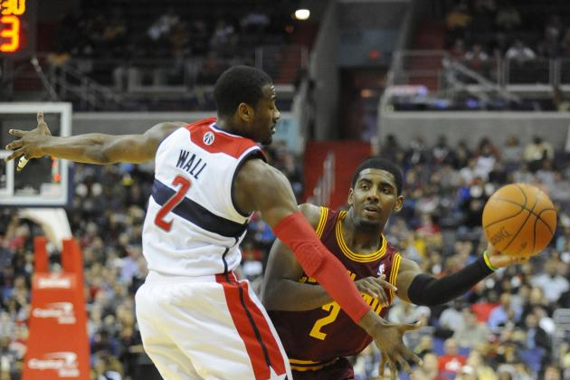 Debate: Does John Wall or Kyrie Irving Have the Higher Ceiling?