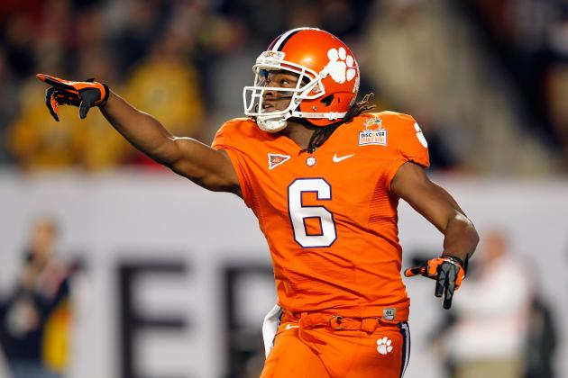 Ravens Met with Clemson WR DeAndre Hopkins at Scouting Combine, Source Says