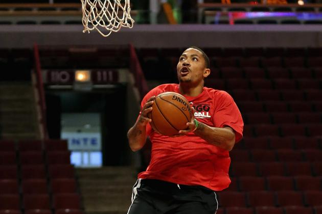 Derrick Rose's Potential Playoff Return Would Stop Questions About His Toughness