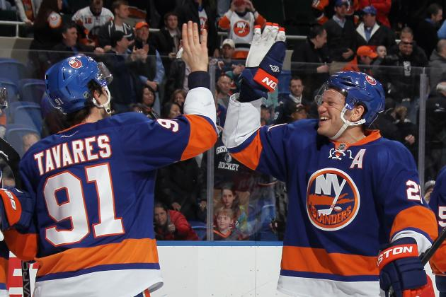 'We Want Playoffs' Chants Fill Nassau Coliseum as Isles Keep Winning