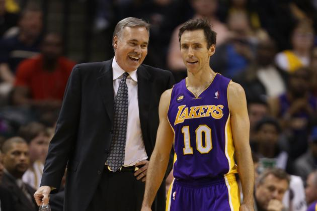 Steve Nash Calls the Los Angeles Lakers a 'Coach's Nightmare'
