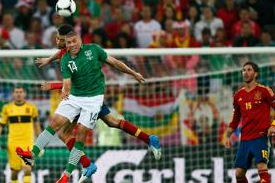 Spain Line Up Ireland Friendly