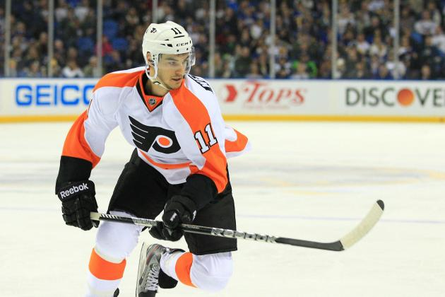 Gruesome Cut for Flyers' Eric Wellwood
