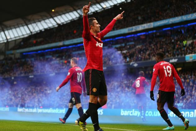 Manchester United vs. Manchester City 2013: Bitter Rivals Destined for Draw