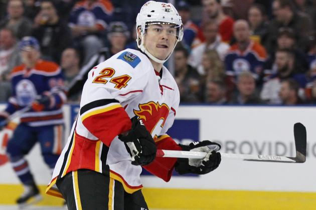 Hudler (Upper-Body) out Tonight vs. Avalanche