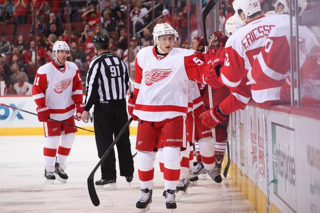 Red Wings Changing Composition of Team on the Fly